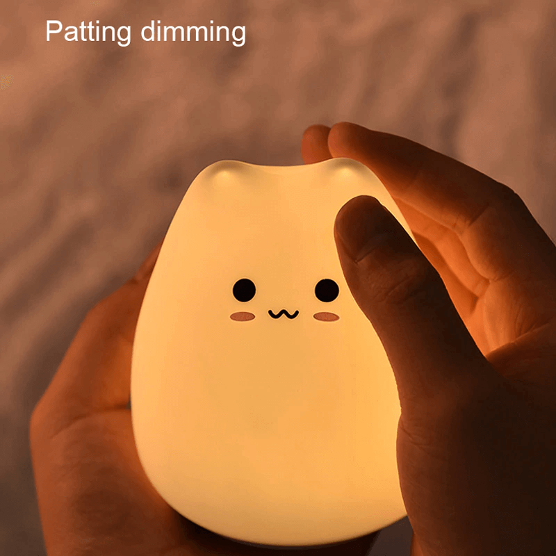 Cutie Cat Night Lamp (with Free Battery!)
