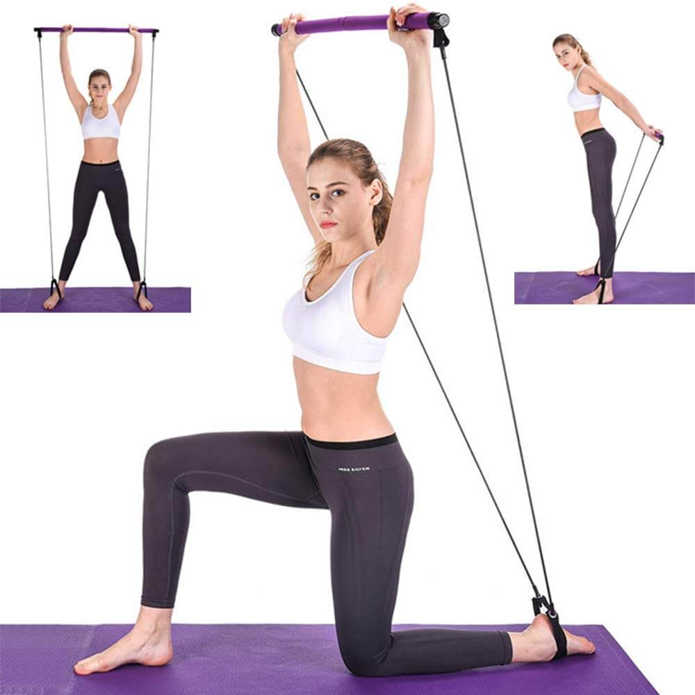 Portable Pilates Home Workout Bar