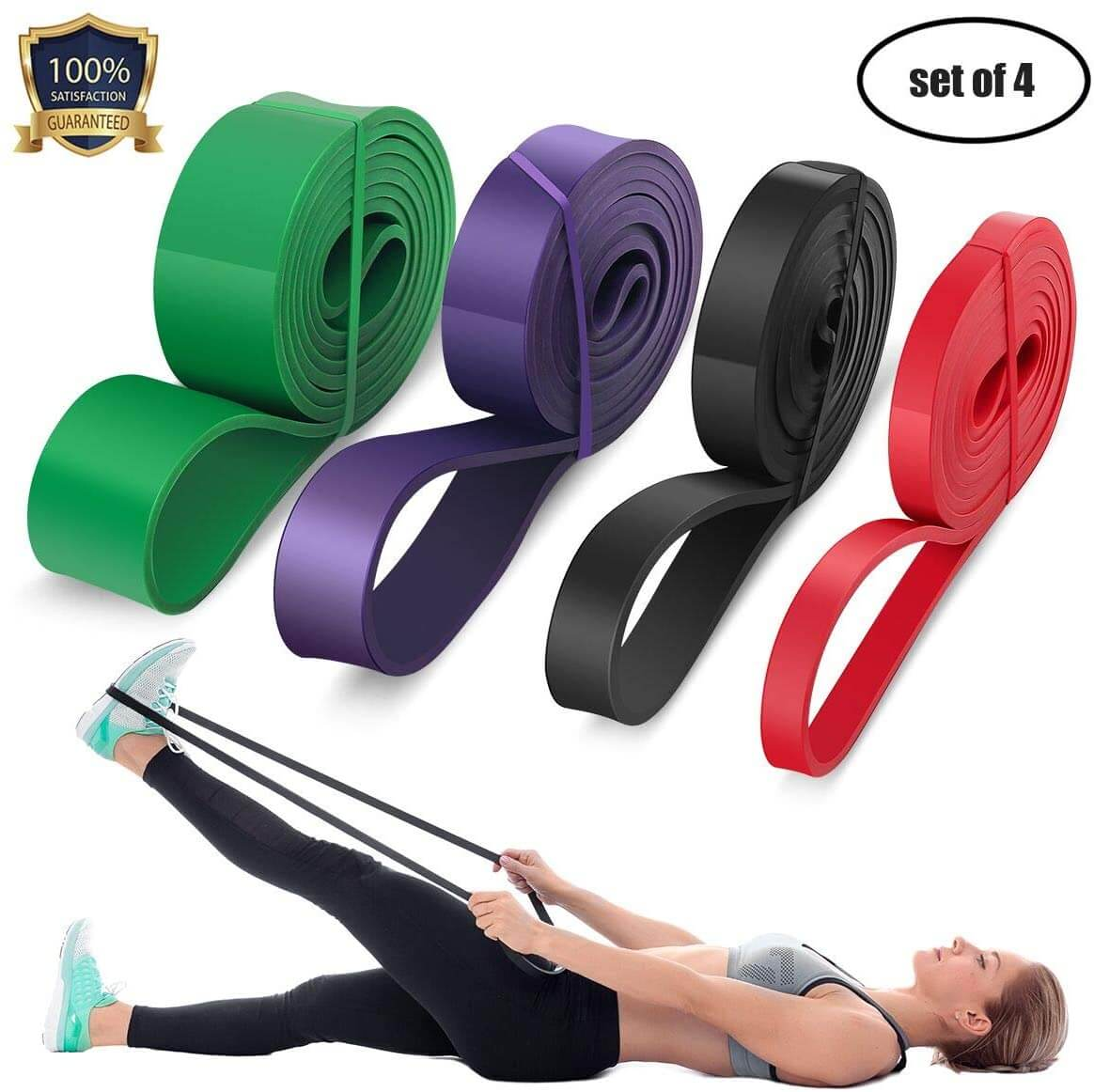Resistance Power Bands by Down To Fitness