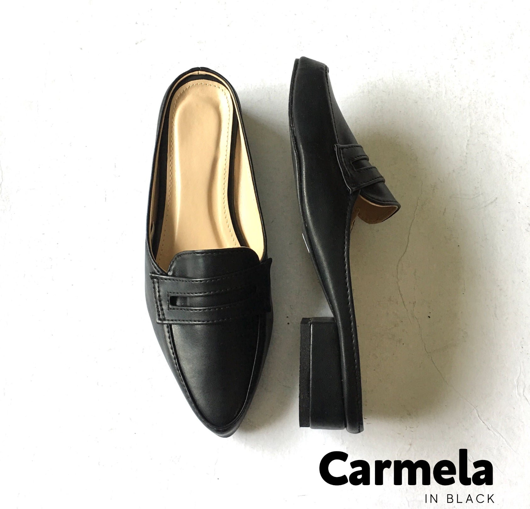 Carmela: slip-on loafers by Hannah Sophia