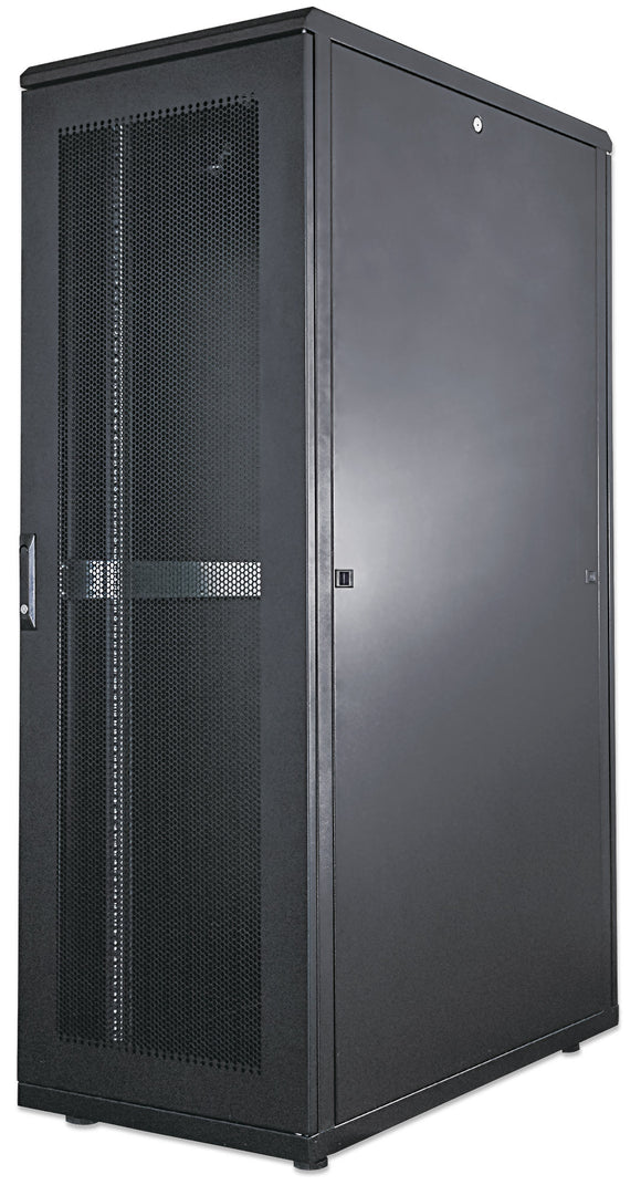 42U 800x1000mm 19in. SILVER SERIES SERVER CABINET Assembled Image 1
