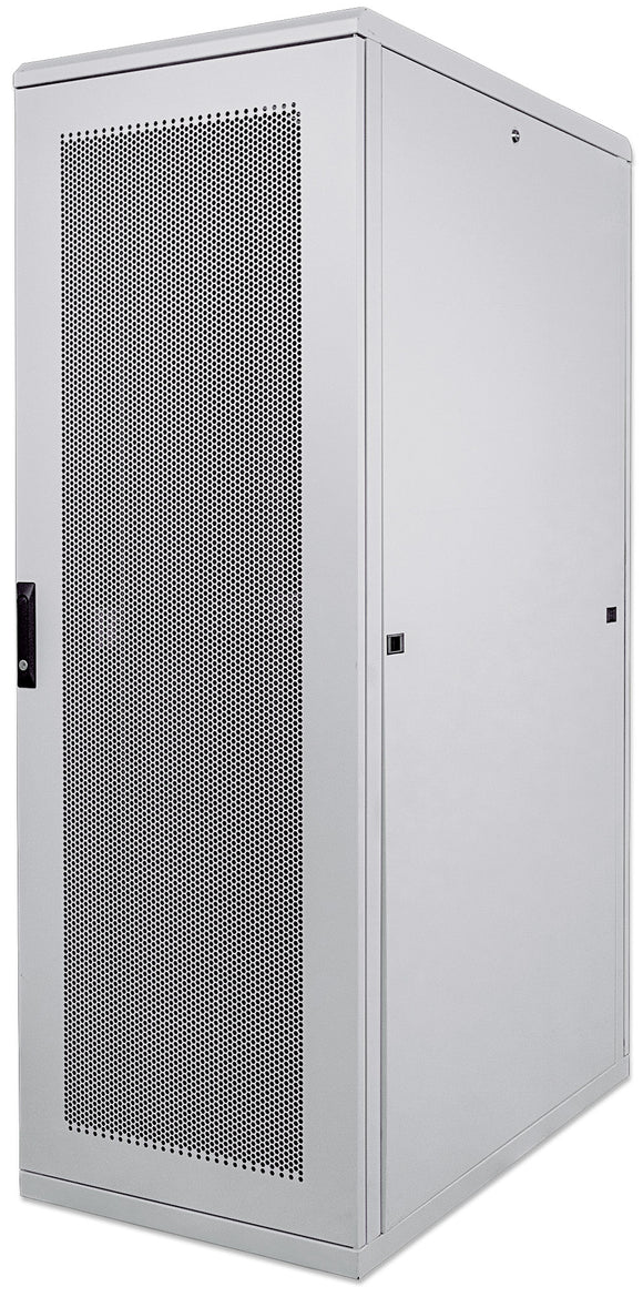 42U 600x1000mm 19in. SILVER SERIES SERVER CABINET Assembled Image 1