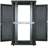 36U 600x1000mm 19in. SILVER SERIES SERVER CABINET Assembled Image 9