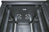 36U 600x1000mm 19in. SILVER SERIES SERVER CABINET Assembled Image 6