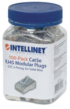 Lot de 100 connecteurs modulaires RJ45 Cat5e Packaging Image 2