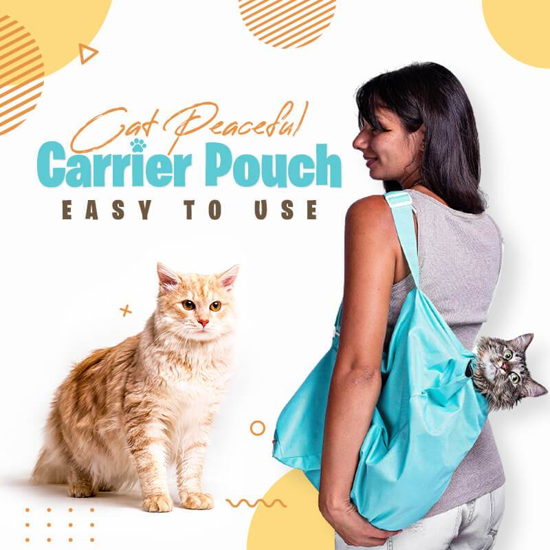 (Hot Sale - Only$19.99)Cat Peaceful Carrier Pouch