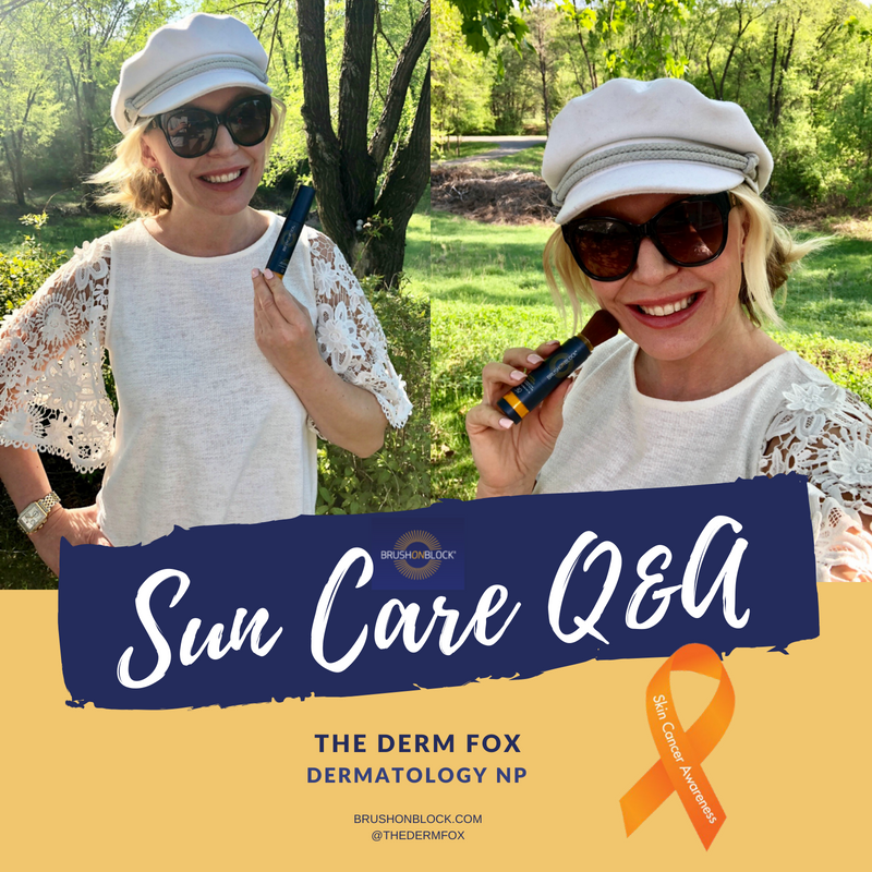 Sun Care Q&A with Dermatology NP The Derm Fox
