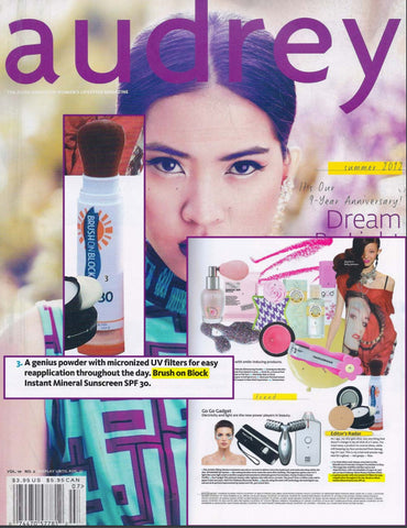 Brush On Block - Audrey Magazine