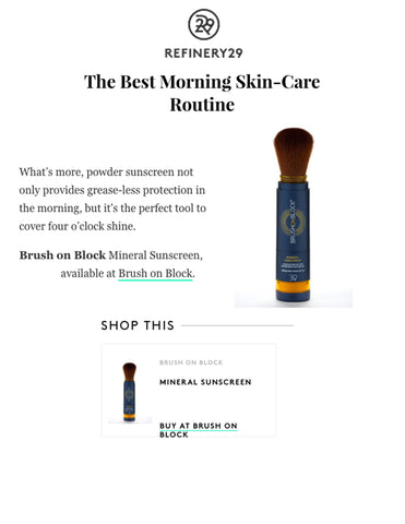 Brush On Block - Refinery 29