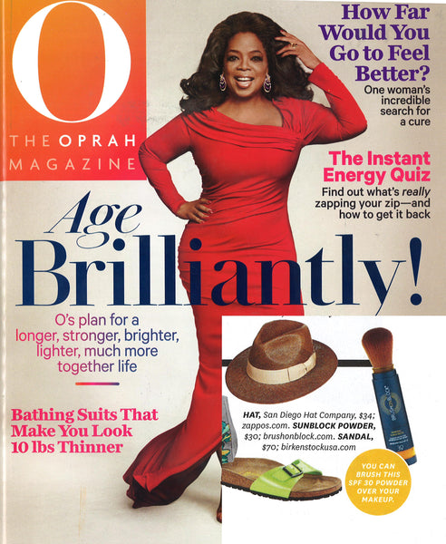 O Magazine article cover
