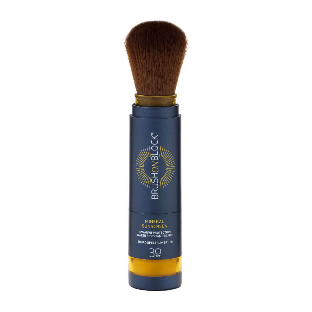 BRUSH ON BLOCK® – Touch of Tan Powder Sunscreen