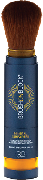 mineral powder sunscreen Brush On Block