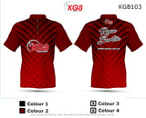 Personalised Bowling Shirt - KGB103 Snakeskin