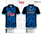 Personalised Bowling Shirt - KGB115 Bolt