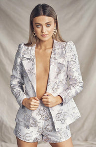 Summa  Blazer & Shorts Set
