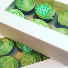 Load image into Gallery viewer, Pandan Cupcakes