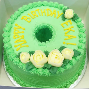 Pandan Chiffon Celebration Cake