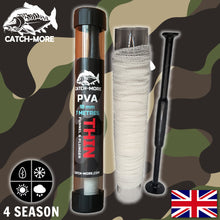 Load image into Gallery viewer, Catch-More PVA Mesh Kit, Thin 18mm with Funnel & Plunger + 7 metres of mesh
