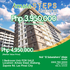 Foreclosed Alabang property for sale