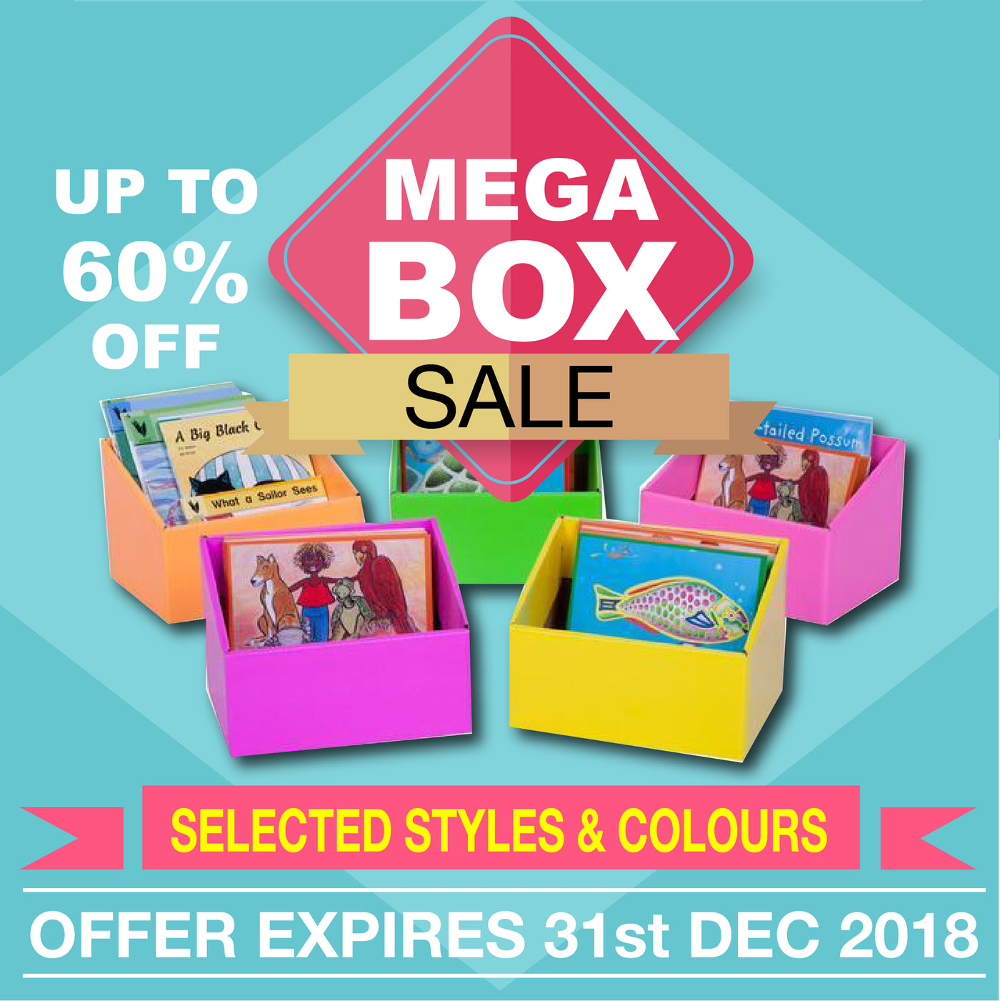 Mega Box Sale 2018