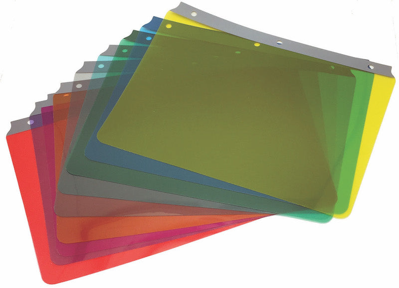 Reading Guide Full Page - Set of 9 colours