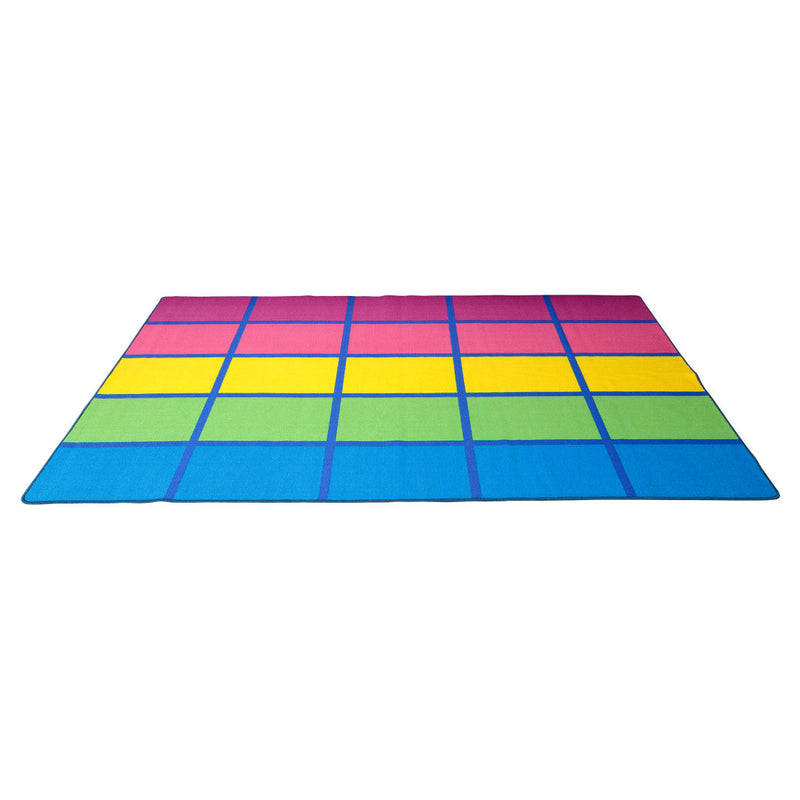 RAINBOW BLOCKS RUG