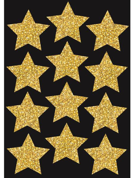 GOLD STARS 12 PCS 76MM MAGNETIC