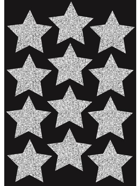 SILVER STARS 12 PCS 76MM MAGNETIC