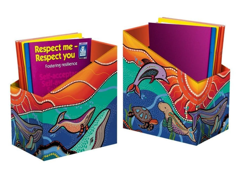 MARINE LIFE BOOK BOX - PACK OF 5 - ON SALE