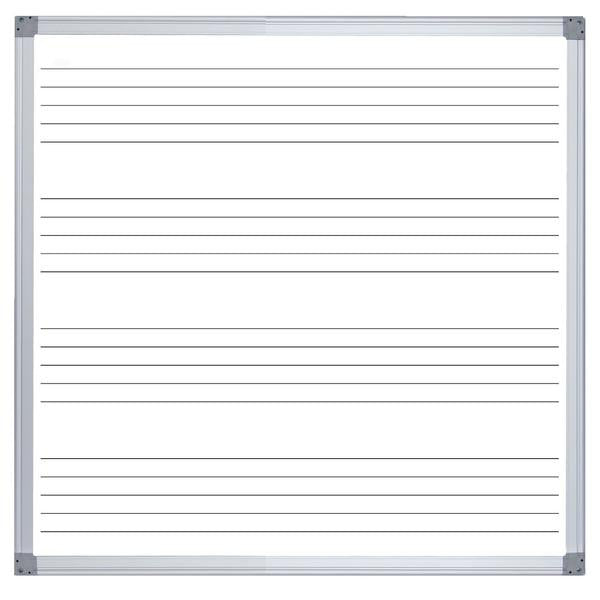 ER MUSIC COMMERCIAL WHITEBOARD - 1200 X 1200mm