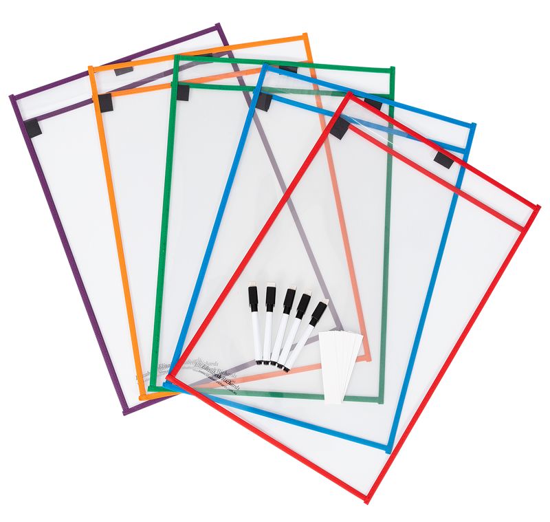 Write 'N' Wipe Paper Saver Sleeves A3 - Pack of 5