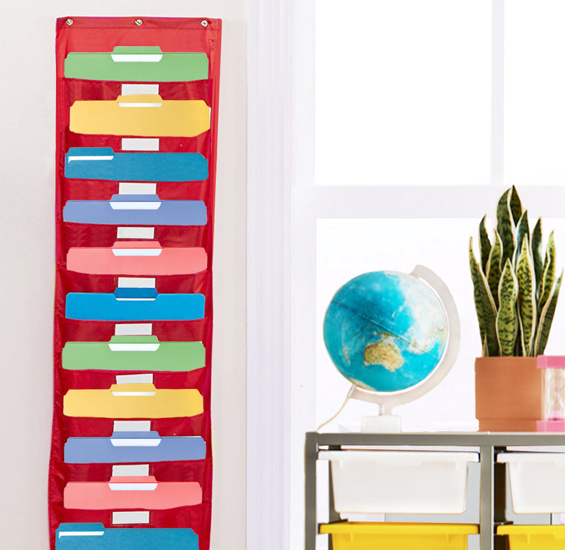 Extra Large Classroom Organiser Pocket Chart