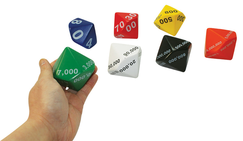Place Value Soft Dice