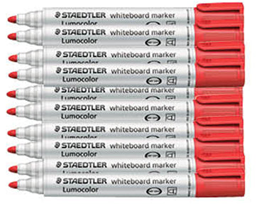 Whiteboard 351 Markers - Box of 10