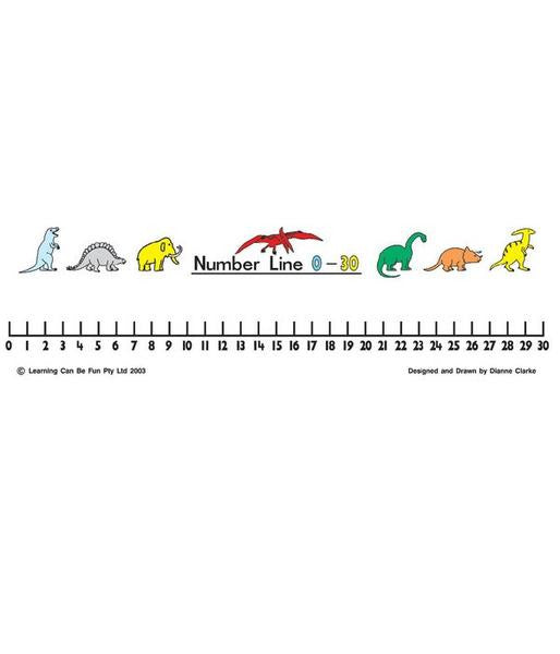 GIANT CLASSROOM  NUMBER LINE