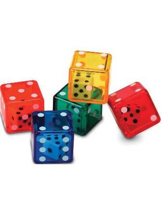DOUBLE DOT DICE - SET OF 72