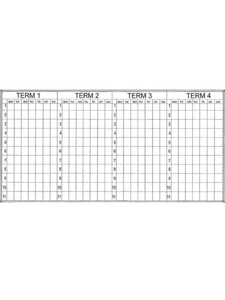 Four Term Planner - Porcelain Surface