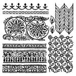IOD Clear Stamps - Bohemia