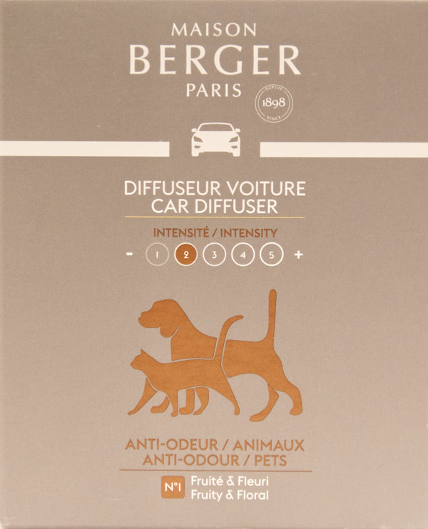 Anti-Odour Animal Car Diffuser Refill – 2 Pack