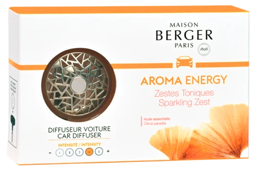 Aroma Energy Sparkling Zest Car Diffuser