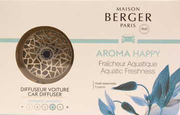 Aroma Happy Aquatic Freshness Car Diffuser
