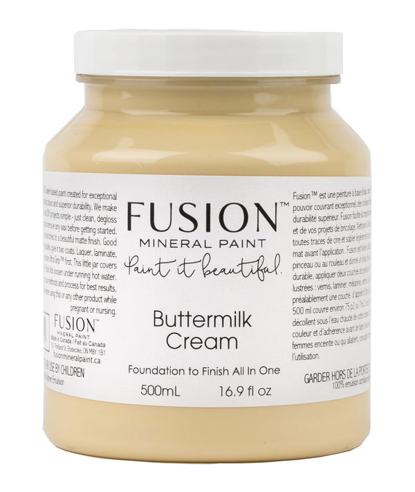 Fusion Mineral Paint - Buttermilk Cream