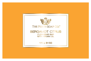 Bergamot Citrus Cleansing Bar