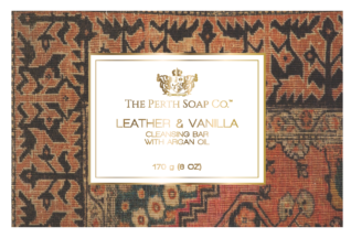 Leather & Vanilla Cleansing Bar