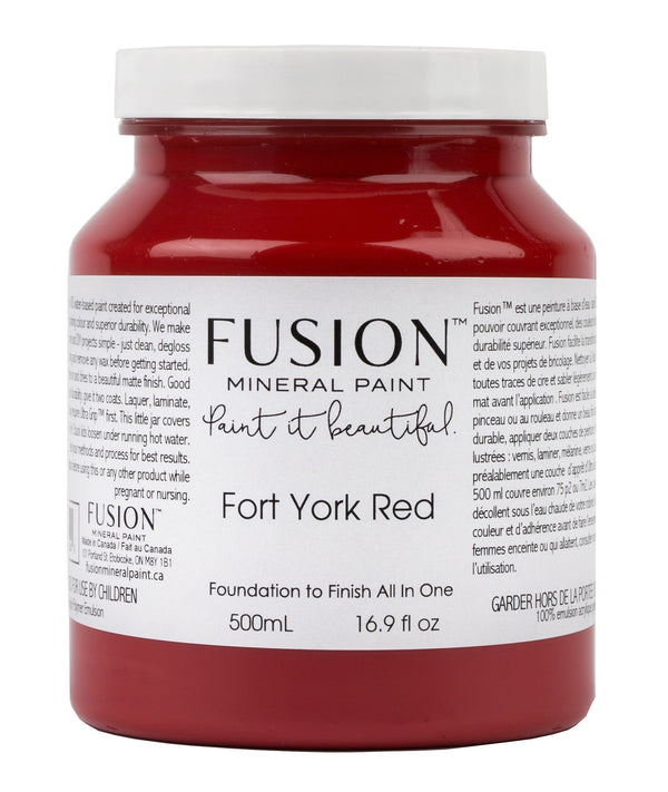 Fusion Mineral Paint - Fort York Red