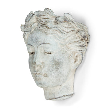 Goddess Head Planter – Wall