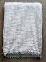 Hampton Linen Throw - Choice of 2 Colours