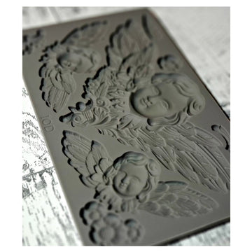 IOD Mould - Classical Cherubs – Iron Orchid Designs