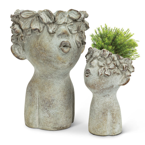 Kissing Face Planter - Large