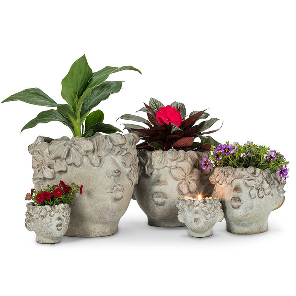 Kissing Face Planter - Mini